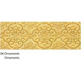 23X33CM GOLD ORNAMENTS CARDBOARD 120G