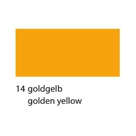 A4 GLAZED CARDBOARD 250G - GOLDEN YELLOW