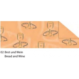 A4 TINTED CARDBOARD 220G - BREAD AND WINE