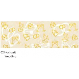 A4 BRILLIANT GOLD CARDBOARD 230G - WEDDING