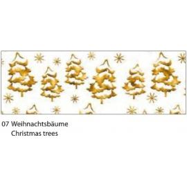 A4 DESIGN CARDBOARD 200G - CHRISTMAS TREES