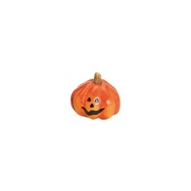 SMALL DECORATION PUMPKIN  5 X 5CM - ORANGE