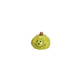SMALL DECORATION PUMPKIN  5 X 5CM - LIME