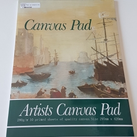 A3 CANVAS PAD 10 SHEETS