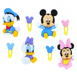 Dress It Up Buttons - Disney Babies