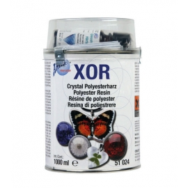 CRYSTAL POLYESTER RESIN - TRANSPARENT 500ML