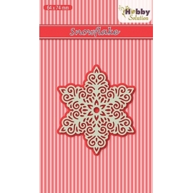 NELLIE'S - HOBBY SOLUTION DIE - SNOWFLAKE