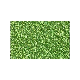 FUN FOAM 40 X 60CM - GLITTER GREEN