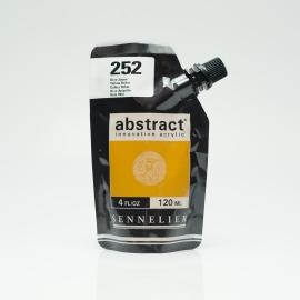 SENNELIER ABSTRACT ACRYLIC 120ML - YELLOW OCHRE
