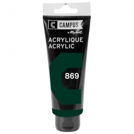CAMPUS ACRYLIC 100ML - EMERALD GREEN