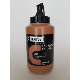 CAMPUS ACRYLIC 500ML - RAW SIENNA