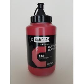 CAMPUS ACRYLIC 500ML - CADMIUM RED DEEP HUE