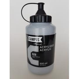 CAMPUS ACRYLIC 500ML - SILVER