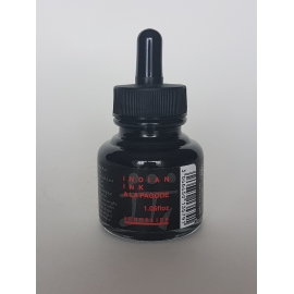 SENNELIER INDIAN INK 30ML - BLACK