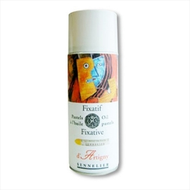OIL PASTEL FIXATIVE SPRAY
