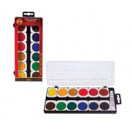 ARTISTS' TRANSPARENT WATER COLOURS SET - X12